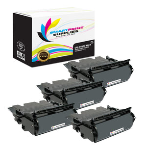 4 Pack Dell W5300 MICR Replacement Black Toner Cartridge by Smart Print Supplies /27000 Pages