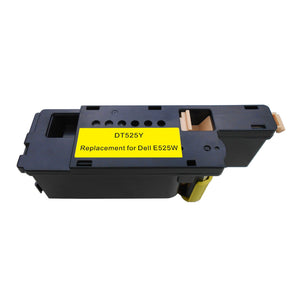 Dell E525Y Replacement Yellow Toner Cartridge by Smart Print Supplies /1,400  Pages