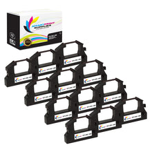 12 Pack Epson ERC-28B Black Compatible Ribbon Cartridge by Smart Print Supples