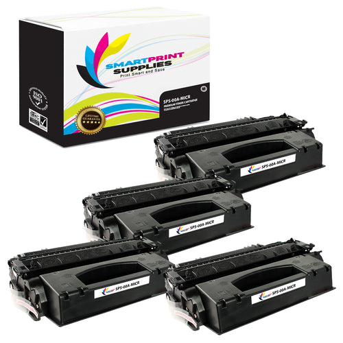 4 Pack HP 00A C3900A Replacement Black MICR Toner Cartridge by Smart Print Supplies