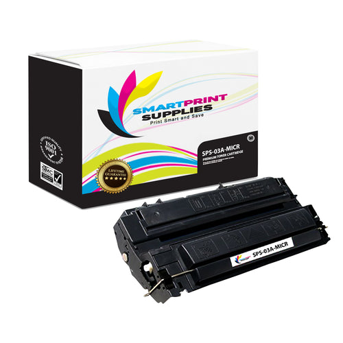 HP 03A C3903A Replacement Black MICR Toner Cartridge by Smart Print Supplies