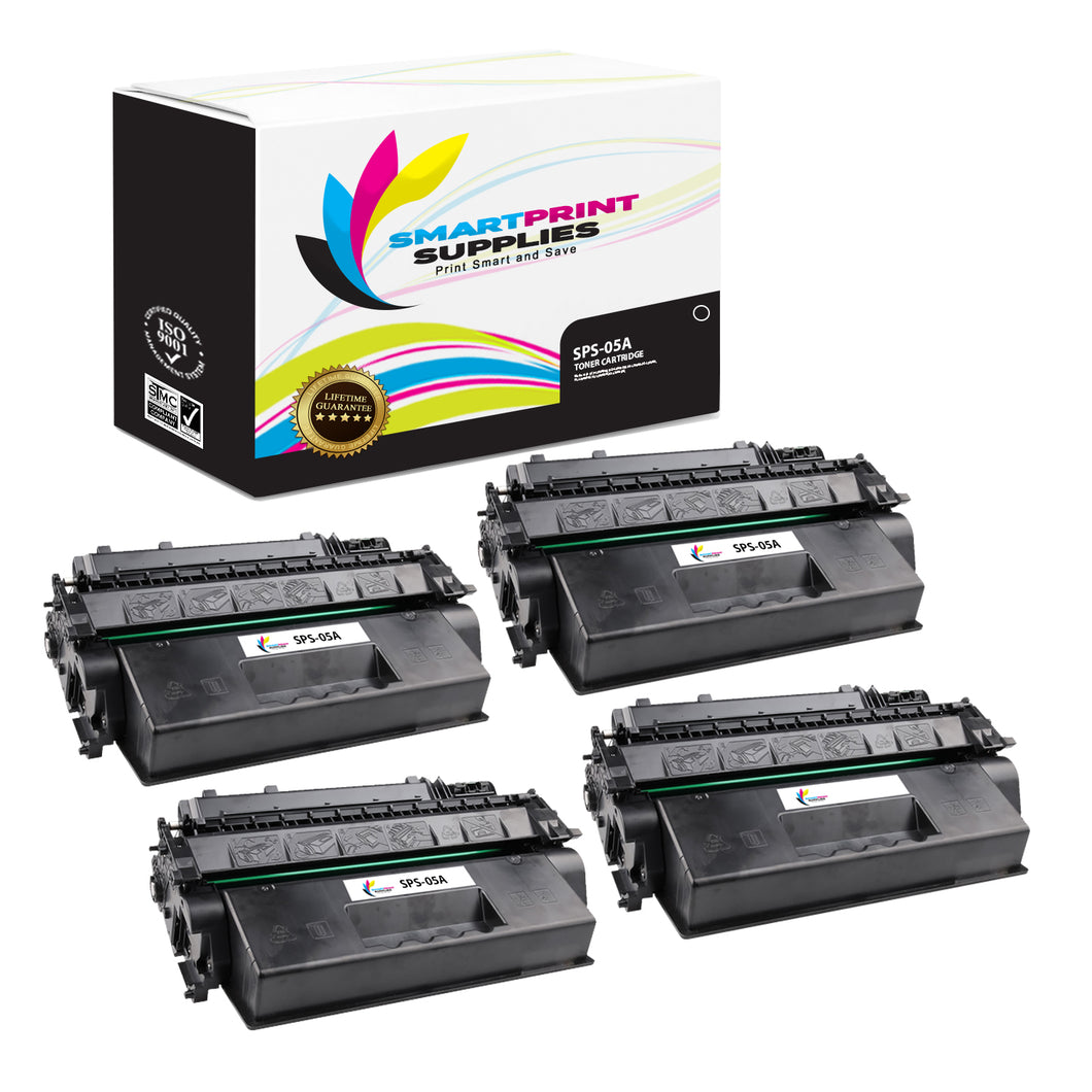 HP 05A Replacement Black Toner Cartridge by Smart Print Supplies /2300 Pages