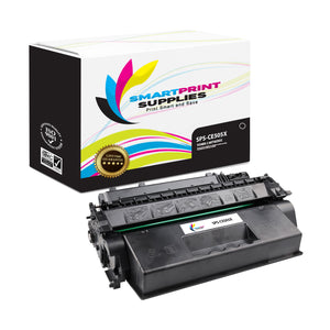 HP 05X Replacement Black Toner Cartridge by Smart Print Supplies /6500 Pages
