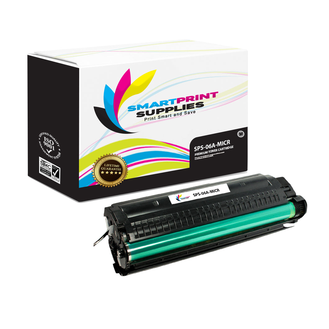 HP 06A C3906A Replacement Black MICR Toner Cartridge by Smart Print Supplies