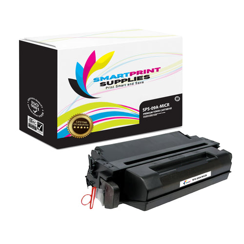 HP 09A C3909A Replacement Black MICR Toner Cartridge by Smart Print Supplies