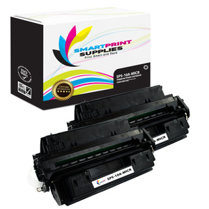 2 Pack HP 10A Q2610A Replacement Black MICR Toner Cartridge by Smart Print Supplies