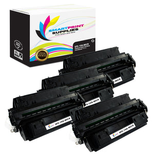 4 Pack HP 10A Q2610A Replacement Black MICR Toner Cartridge by Smart Print Supplies