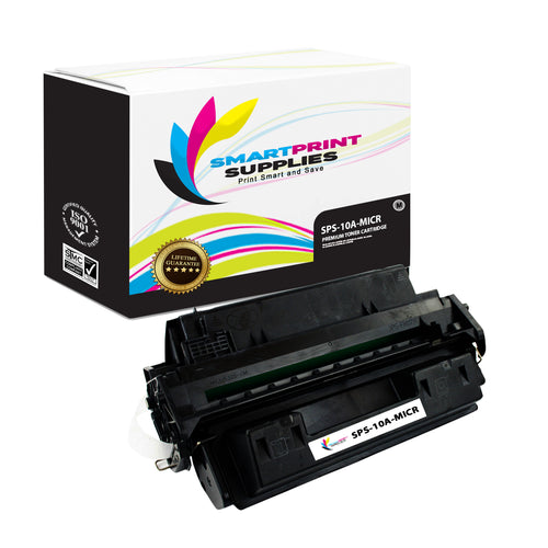 HP 10A Q2610A Replacement Black MICR Toner Cartridge by Smart Print Supplies