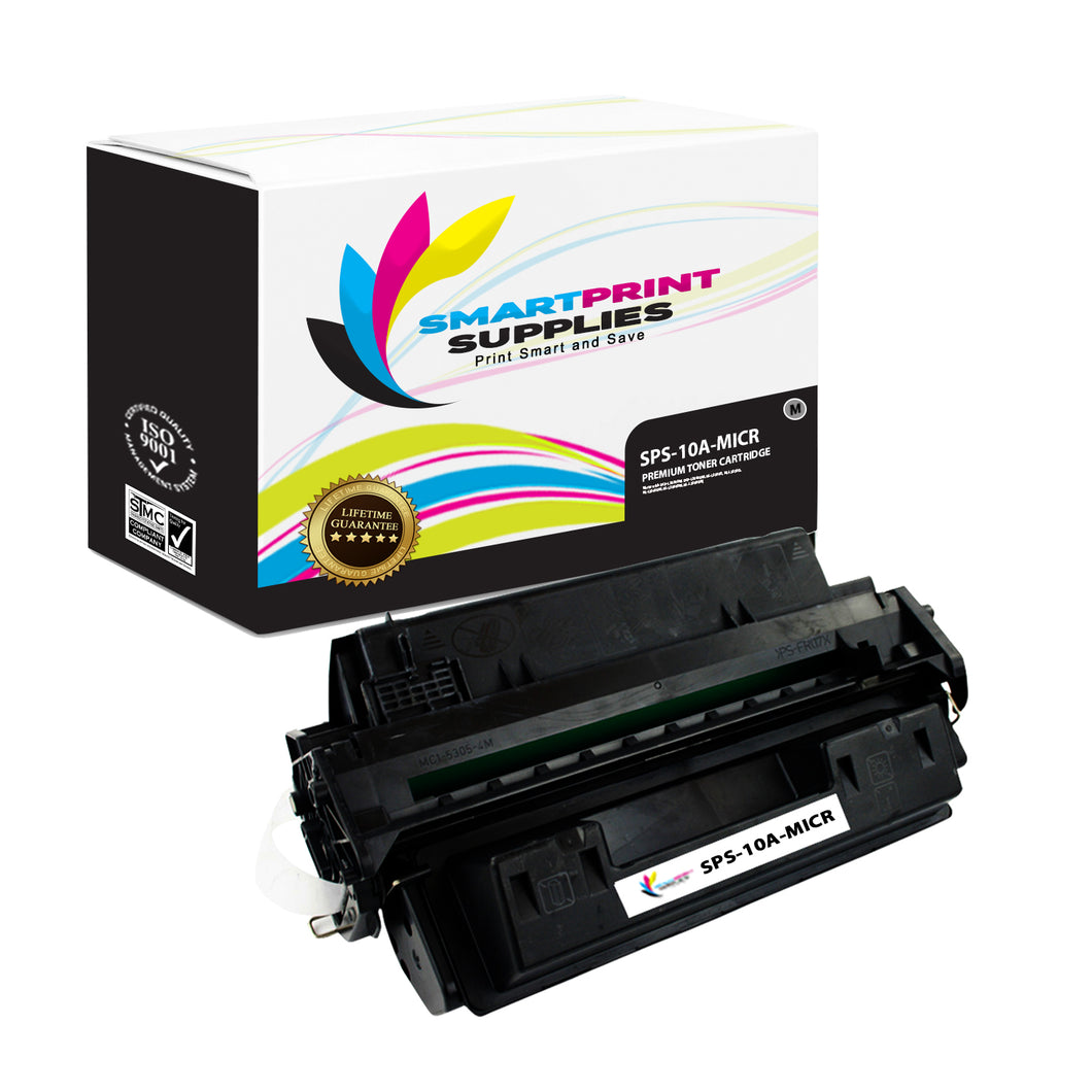 HP 10A Q2610A MICR Replacement Black Toner Cartridge by Smart Print Supplies /6000 Pages