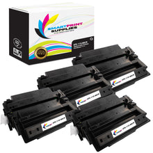 4 Pack HP 11X MICR Replacement MICR Toner Cartridge by Smart Print Supplies