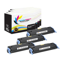 4 Pack HP 124A 4 Colors Toner Cartridge Replacement By Smart Print Supplies