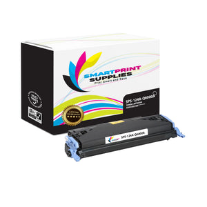 1 Pack HP 124A Black Toner Cartridge Replacement By Smart Print Supplies
