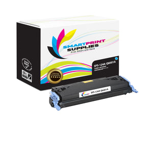 1 Pack HP 124A Cyan Toner Cartridge Replacement By Smart Print Supplies