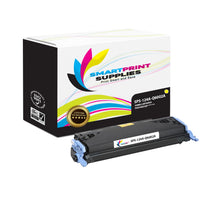 1 Pack HP 124A Yellow Toner Cartridge Replacement By Smart Print Supplies