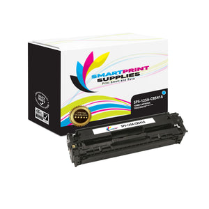 1 Pack HP 125A Cyan Toner Cartridge Replacement By Smart Print Supplies