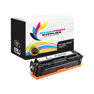 1 Pack HP 128A Black Toner Cartridge Replacement By Smart Print Supplies