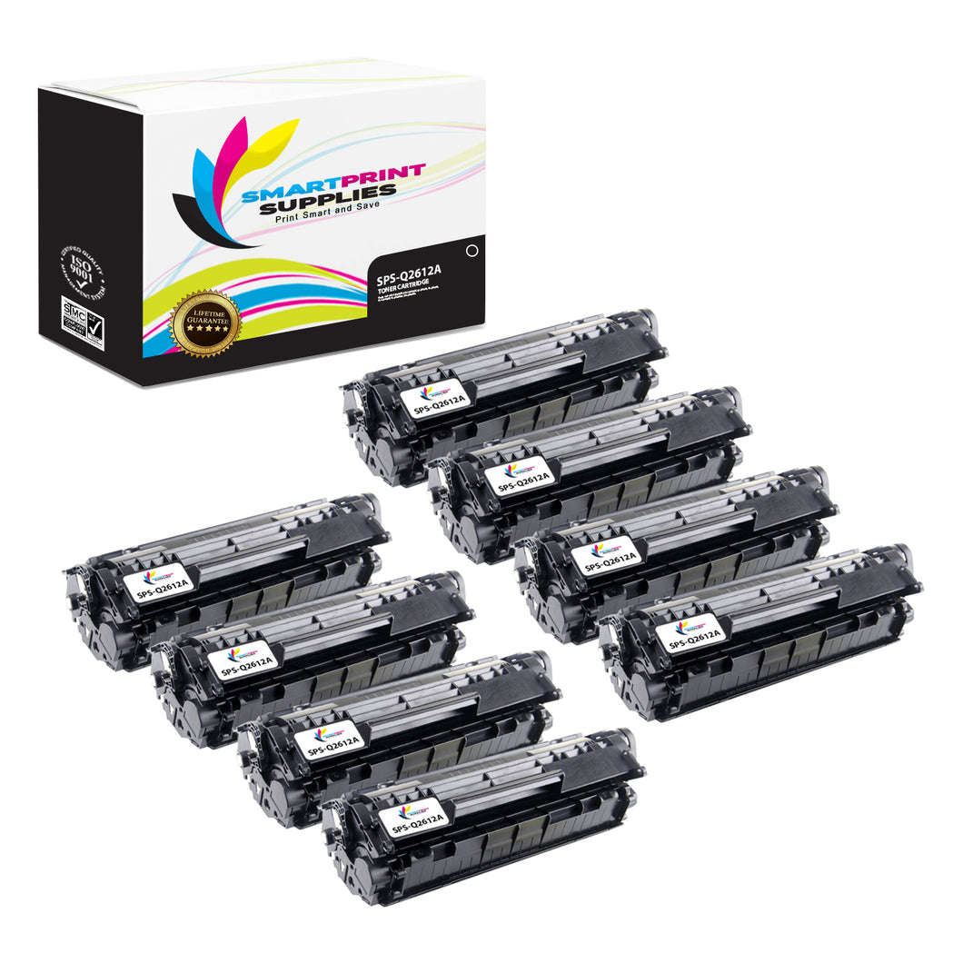HP 12A Replacement Black Toner Cartridge by Smart Print Supplies /2000 Pages