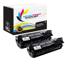 2 Pack HP 12A Q2612A Replacement Black MICR Toner Cartridge by Smart Print Supplies