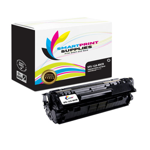 HP 12A MICR Replacement Black Toner Cartridge by Smart Print Supplies /2000 Pages