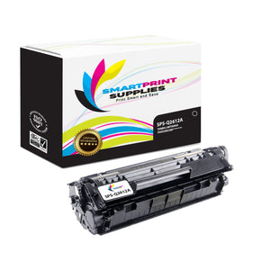 HP 12A Q2612A Replacement Black Toner Cartridge by Smart Print Supplies