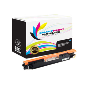 HP 130A CF351A Premium Replacement Cyan Toner Cartridge by Smart Print Supplies