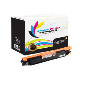 HP 130A CF352A Premium Replacement Yellow Toner Cartridge by Smart Print Supplies