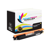 HP 130A CF352A Replacement Yellow Toner Cartridge by Smart Print Supplies
