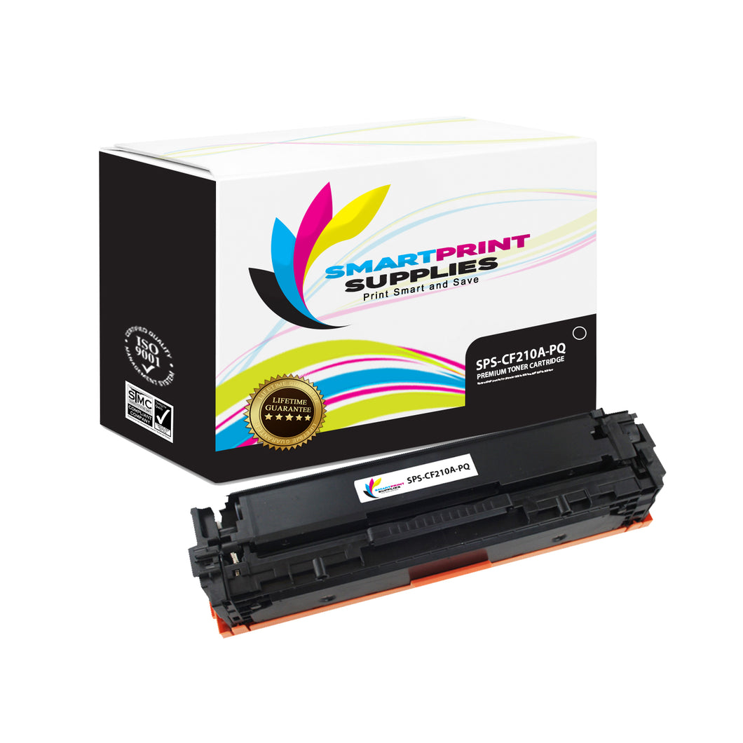 HP 131A-131X CF210A Premium Replacement Black Toner Cartridge by Smart Print Supplies