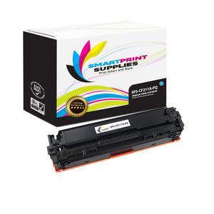 HP 131A-131X CF211A Premium Replacement Cyan Toner Cartridge by Smart Print Supplies