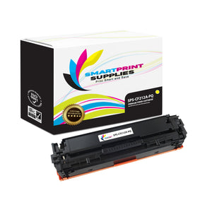 HP 131A-131X CF212A Premium Replacement Yellow Toner Cartridge by Smart Print Supplies
