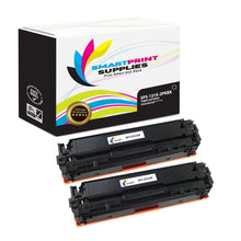 Smart Print Supplies 131X CF210X Replacement Black Toner Cartridge Two Pack