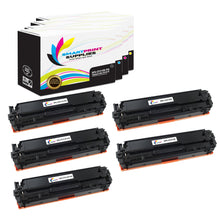 5 Pack HP 131A-131X Premium Replacement (CMYK) High Yield Toner Cartridge by Smart Print Supplies