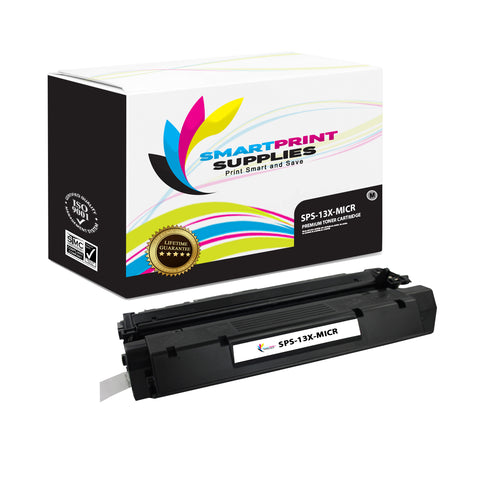 HP 13X Q2613X Replacement Black High Yield MICR Toner Cartridge by Smart Print Supplies