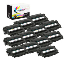 12 Pack HP 14A Black Toner Cartridge Replacement By Smart Print Supplies
