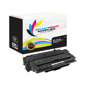 1 Pack HP 14A PQ Premium Replacement Black Toner Cartridge by Smart Print Supplies