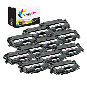 12 Pack HP 14X Black High Yield Toner Cartridge Replacement By Smart Print Supplies