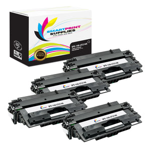 4 Pack HP 14X Black High Yield Toner Cartridge Replacement By Smart Print Supplies