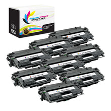 8 Pack HP 14X Black High Yield Toner Cartridge Replacement By Smart Print Supplies