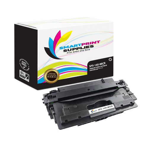 HP 14X CF214X Replacement Black High Yield MICR Toner Cartridge by Smart Print Supplies