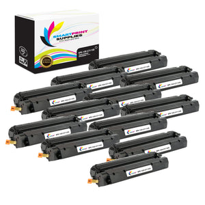 12 Pack HP 15X Black High Yield Toner Cartridge Replacement By Smart Print Supplies