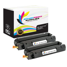 2 Pack HP 15X Black High Yield Toner Cartridge Replacement By Smart Print Supplies