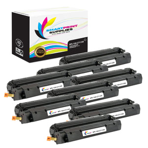 8 Pack HP 15X Black High Yield Toner Cartridge Replacement By Smart Print Supplies