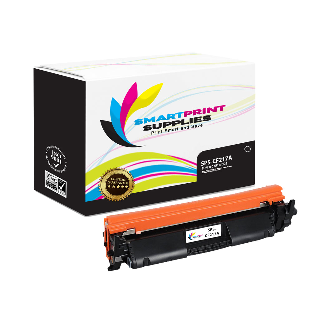 HP 17A CF217A Replacement Black Toner Cartridge by Smart Print Supplies
