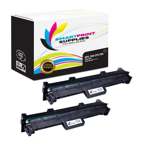 2 Pack HP CF219A Replacement Drum Unit By Smart Print Supplies