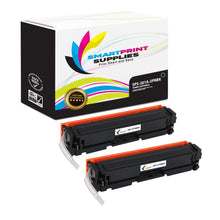 2 Pack HP 201A CF400A Replacement Black Toner Cartridge by Smart Print Supplies