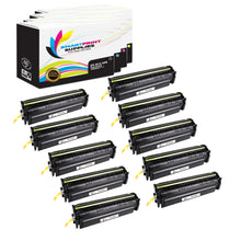 10 Pack HP 201X Replacement (CMYK) High Yield Toner Cartridge by Smart Print Supplies