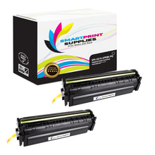 2 Pack HP 201X CF400X Premium Replacement Black High Yield Toner Cartridge by Smart Print Supplies