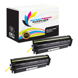2 Pack HP 201X CF400X Replacement Black High Yield Toner Cartridge by Smart Print Supplies