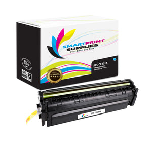 HP 201X CF401X Replacement Cyan High Yield Toner Cartridge by Smart Print Supplies