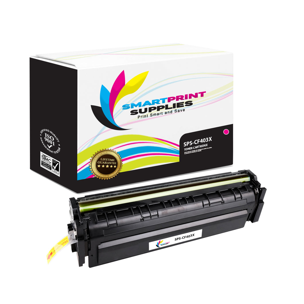 HP 201X CF403X Replacement Magenta High Yield Toner Cartridge by Smart Print Supplies